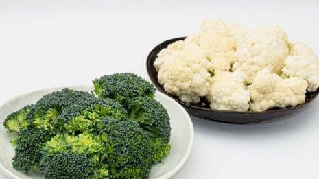 ブロッコリー&カリフラワー 形は似ていても栄養価は大違い