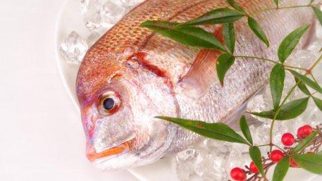 鯛はミネラル、ビタミン、DHA、EPAが豊富