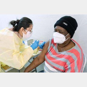 成人の4割がワクチン接種を受けているアメリカ