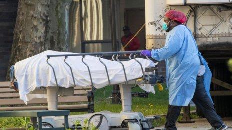 米国の主要死因ランキングで新型コロナ感染症が第3位に