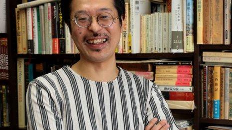 活動弁士の片岡一郎さん網膜剥離になって「厄年の意味を実感」