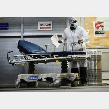 2020年の超過死亡の最多は米国で45万8000人