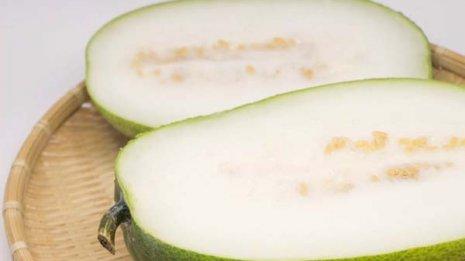 冬瓜は9割が水分で熱中症予防に最適 抗酸化作用もあり
