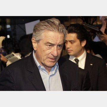 映画「アンタッチャブル」でアル・カポネを演じたロバート・デニーロ