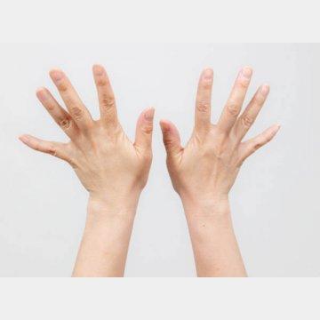 指の動きは、広範囲の脳の領域が使われる