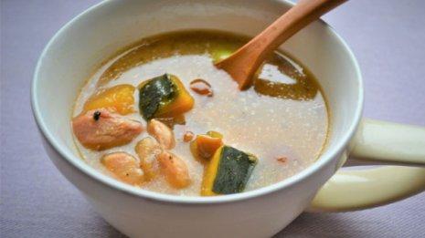 たるみ改善にはカボチャ、キノコ、鶏肉、豆で「脾」を増強
